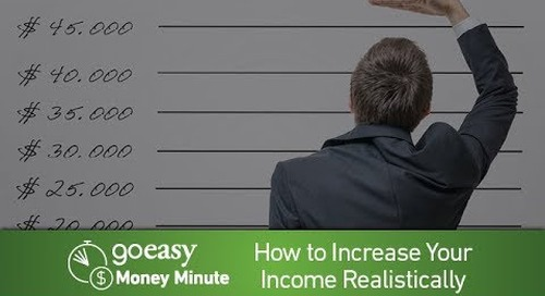 MoneyMinute - How to Increase Your Income Realistically