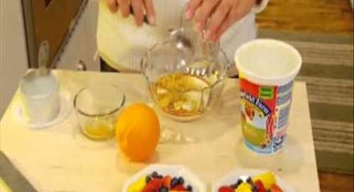 Recipe - Citrus Yogurt