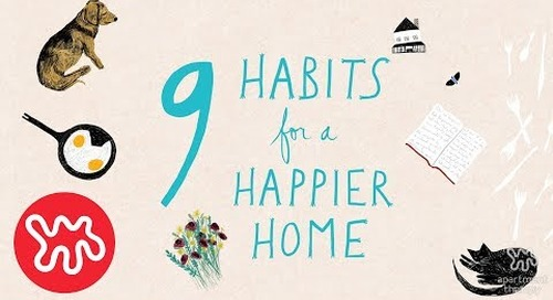 Have A Happier Home With These 9 Habits