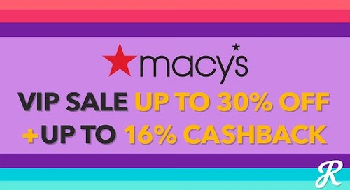 The Deal Download With Macy's VIP Sale