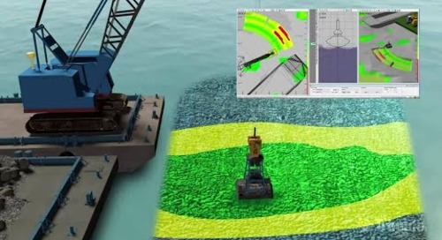 Trimble Marine Construction Software - Wire Crane