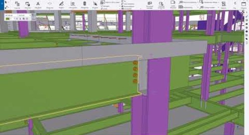 The Power and Unmatched Accuracy of the Tekla 3D Model