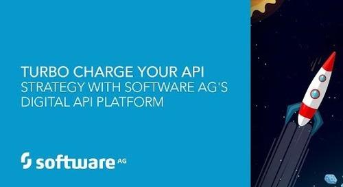 Turbocharge Your API Strategy with Software AG's webMethods API Platform