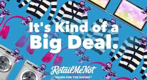 2018 Cyber Week Deals with RetailMeNot (15sec)