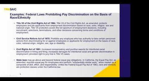 Trusaic and HR.com Webinar -  The Racial Pay Gap