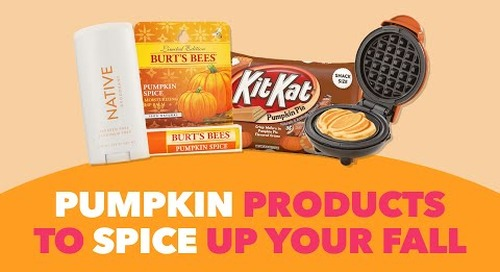 6 of the Coolest Pumpkin Spice Products to Try This Fall