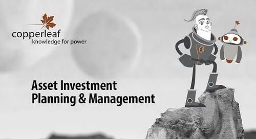 The Adventures of Coop & C55 (Episode #1): Copperleaf's Asset Investment Planning and Management (AIPM)