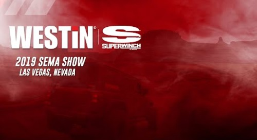 2019 WESTIN | SUPERWINCH SEMA SHOW