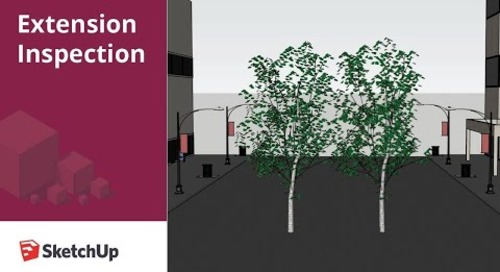 Extension Inspection - FredoPortrait in SketchUp
