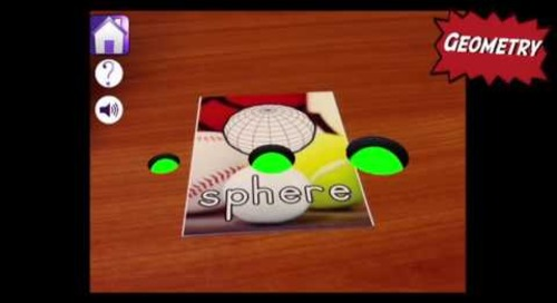 Augmented Reality in Education - Math Alive