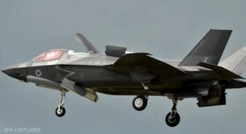 F-35 Lightning II makes its first UK display debut at RIAT 2016
