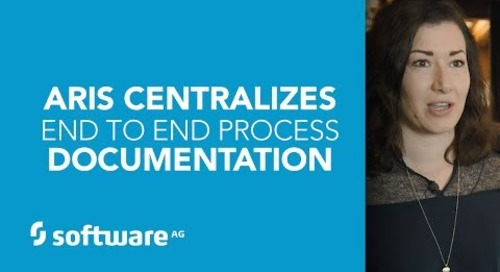 ARIS Centralizes End To End Process Documentation