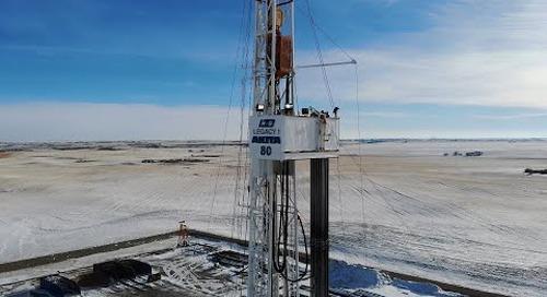 The next generation of service loops - AKITA drilling installs the igus® e-loop CA
