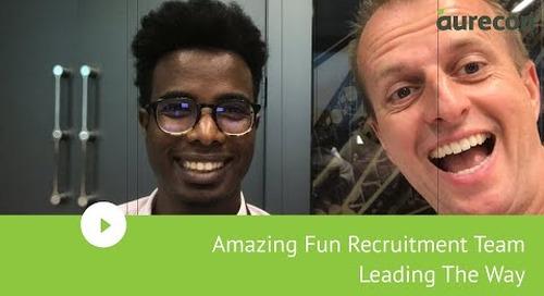Amazing Fun Recruitment Team Leading The Way