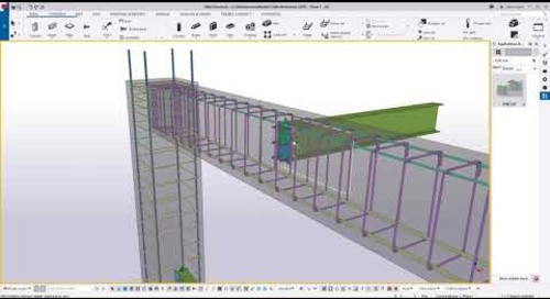 Embed & Steel Connections for Concrete Beams, Columns and Panels