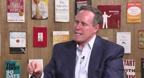 What to do if you Inherit a Low Trust Team | Stephen M.R. Covey | FranklinCovey clip