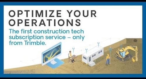 Trimble Platform as a Service