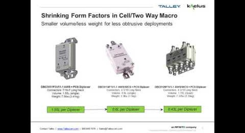 Webinar - Kalelus RF Conditioning Filters