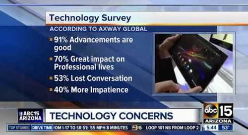 Axway Surveys Relationship Between Man & Machine | ABC News Phoenix