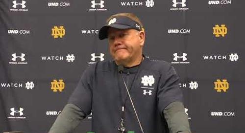 Notre Dame Iowa State Press Conference