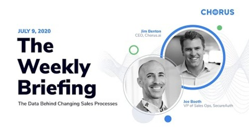 The Weekly Briefing - The Data Behind Sales Process Changes
