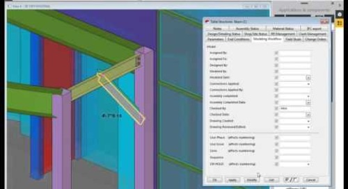 Tekla for Steel in 3 Minutes