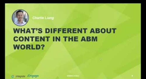 How Content Evolves in an ABM World