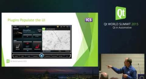 QtWS15- How to Implement an Automotive Infotainment System using Qt Quick, Dustin Kassman, ICS