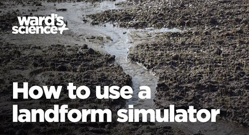 How to Use a Landform Simulator to Study Erosion, Deposition, and Bodies of Water