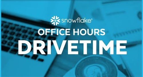 Snowflake Office Hours: DriveTime