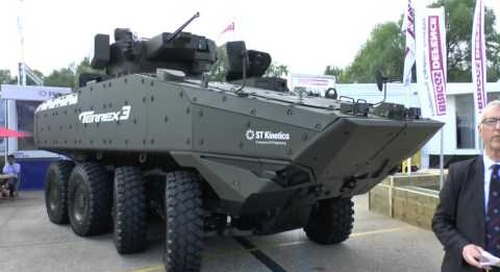 DVD 2016: ST Kinetics Terrex Infantry Fighting Vehicle