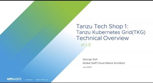 Tanzu Tech Shop: Deploying and Managing a Kubernetes Application Platform