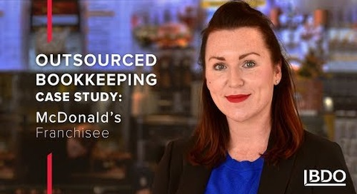 How outsourced bookkeeping saves a McDonald's franchisee money