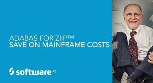 Adabas for zIIP™ - Save on Mainframe Costs