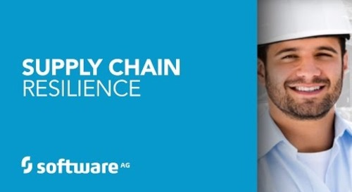 Software AG's Supply Chain Resilience