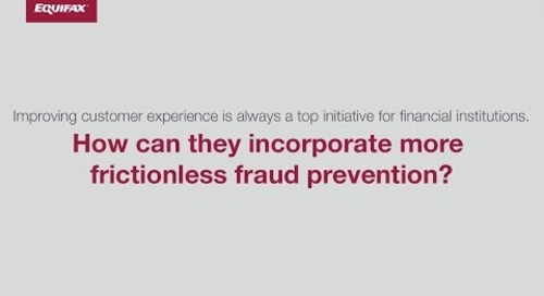 Top Fraud Challenges - Frictionless Prevention