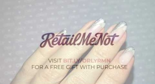 ORLY Breathable Metallic Tip Nail Art