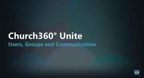 Unite: Users, Groups, and Communication