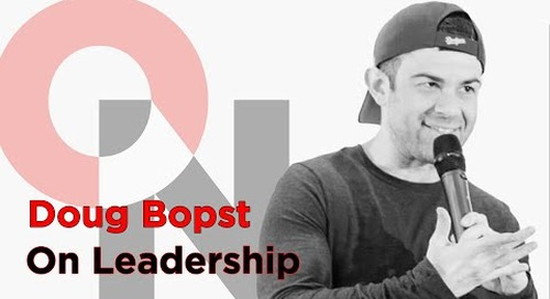 Uplifting Others Through Your Own Experiences | Doug Bopst | On Leadership clip
