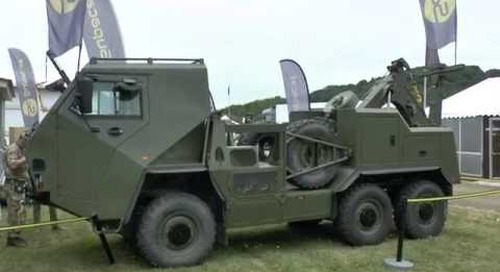 DVD 2016: Latest additions to Supacat's HMT family of vehicles