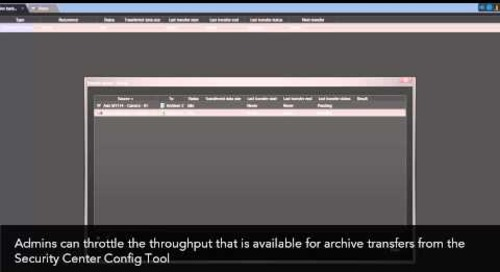 Archive transfer