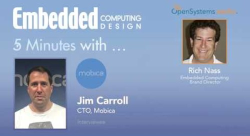 Five Minutes With… Jim Carroll, CTO, Mobica