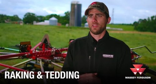 Massey Ferguson – A Cut Above the Rest Video Series Episode 2 - Raking and Tedding