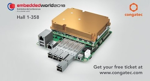congatec at embedded world 2018