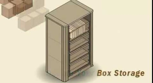 Times Two Filing Cabinets | X2 Spinning File Cabinet | Spin File Record Storage