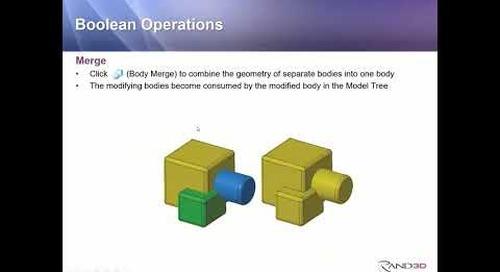 Rand 3D Presentation: Multibodies in Creo 7