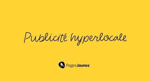 Publicité hyperlocale - Ciblez les clients mobiles près de votre entreprise.