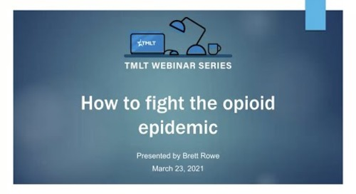 Opioid epidemic and your practice