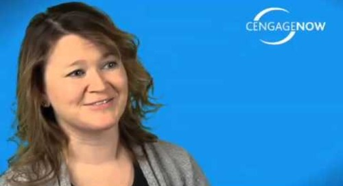 CengageNOW Instructor Testimonial: Kristen Quinn