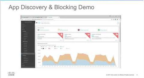 Cisco Umbrella Demo: App Visibility and Blocking for Shadow IT